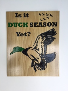 Duck-Season-wood-sign